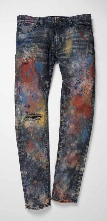 Denim Supply Ralph Lauren Primavera-Verano 2013...Wow, who would think that paints I paint in come in style?