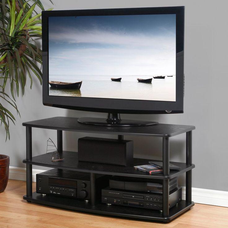 Plateau SE-3V 42 Inch TV Stand in Black - SE-V3 42 (B)-B
