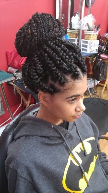 17 Best ideas about Jumbo Box Braids on Pinterest | Thick ...
