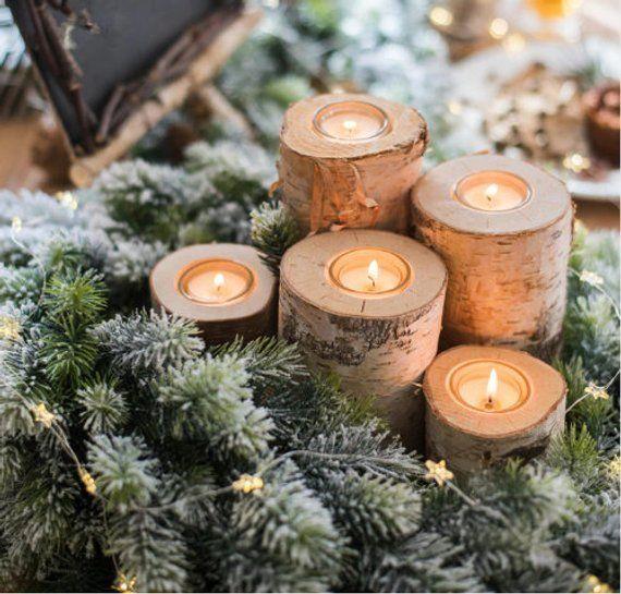 17 Festive Christmas Table Decor Ideas Christmas Decorations Rustic Christmas Table Centerpieces Rustic Holiday Decor