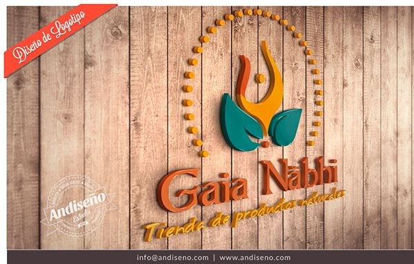 Gaia Nabhi by Andiseño Estudio, via Behance