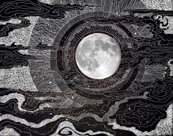 Moon Glow by Brenda Erickson