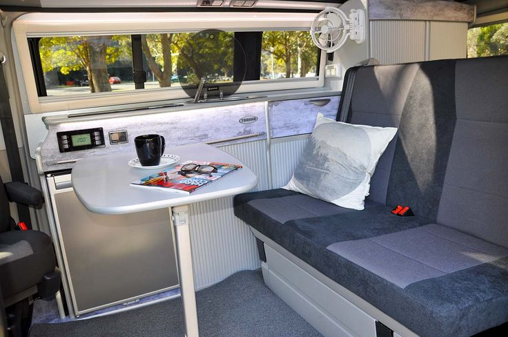 How's this for a campervan interior? The Trakkadu All-Terrain  has an open and inviting interior that exudes style and quality...