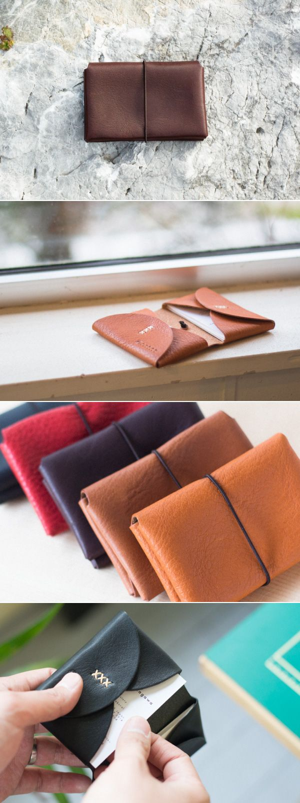 leather card case | Duram Factory