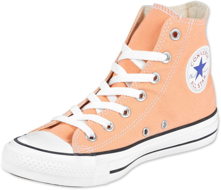 Peach Converse High Tops OBSESSED