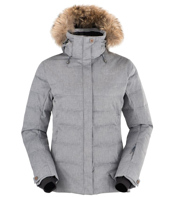 Eider Shibuya Jacket in Grey Cloudy The upscale jacket in the women's  collection that is essential this winter. Its design, geared to skiing and  urban wear, ...