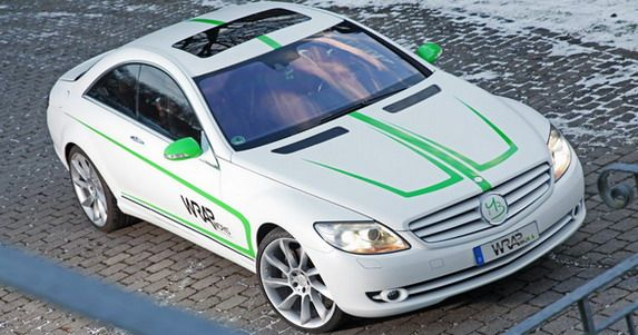 WRAPworks Mercedes CL500