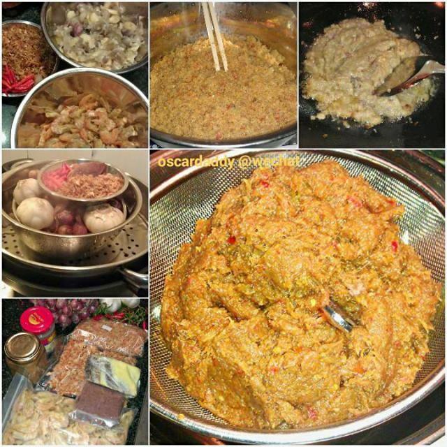 """レシピとお料理がひらめくSnapDish - 26件のもぐもぐ - the making of Malaysian """"Belachan"""" Chilli ( Shrimp paste ) マレーシアのエビのペースト【馬拉盞】 by Gavin Wong (香港の人々)"""
