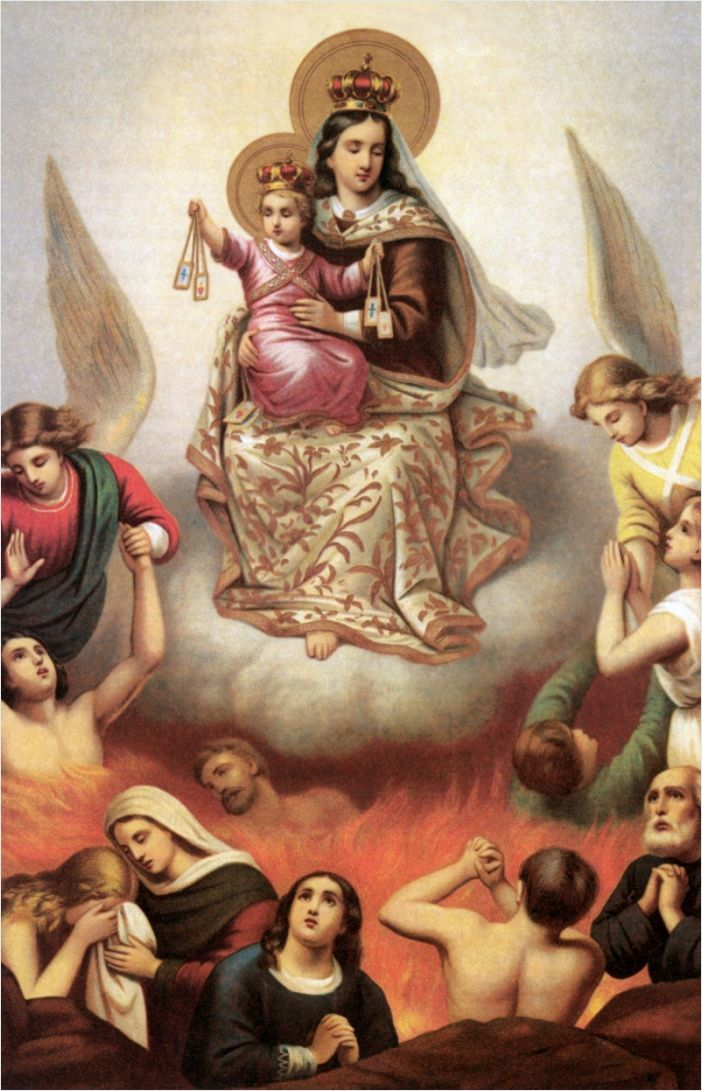 The Brown Scapular of Our Lady: Its Origin and Promise . Saves Souls .