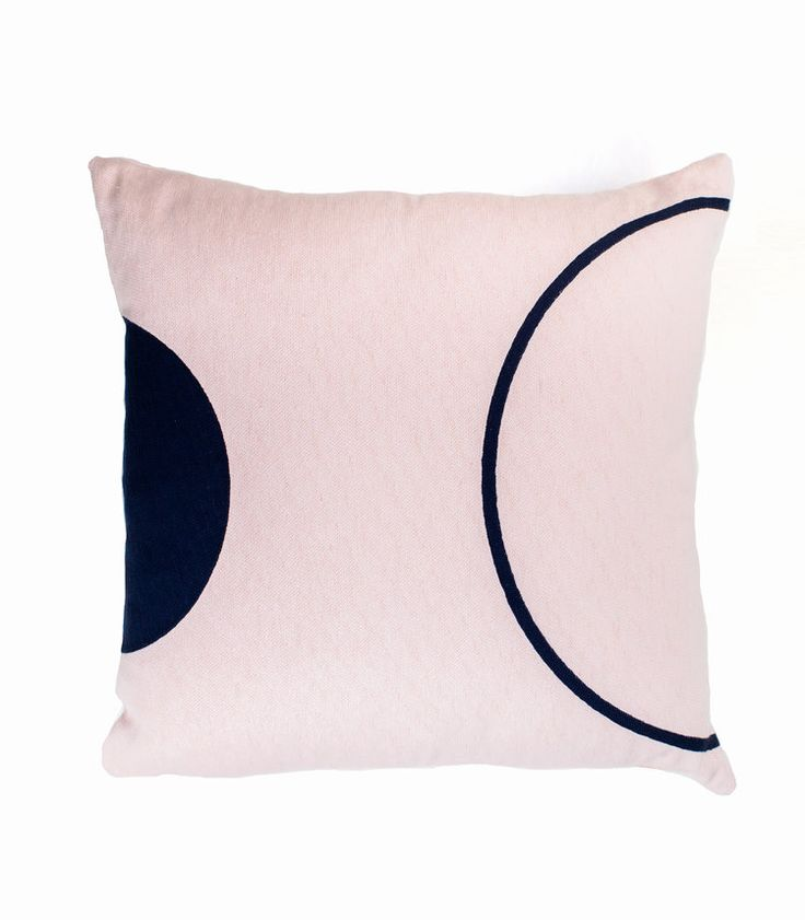 The Stables offers a beautiful collection Australian designed cushions. The EADIE cushion is made from cotton embroidery with a playful design. Colour: blush and navy. Dimensions: 50cm x 50cm Includes feather insert. $89.95 AUD www.thestablesco....