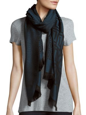668f102c07 VERSACE Medusa Animal Print Wool Scarf. #versace #scarf | Versace ...