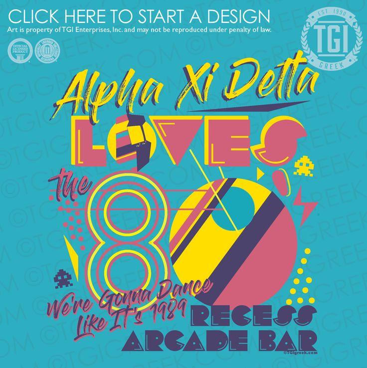 Alpha Xi Delta   ΑΞΔ   Date Party   Greek Mixer   TGI Greek   Greek Apparel   Custom Apparel   Sorority Tee Shirts   Sorority T-shirts   Custom T-Shirts