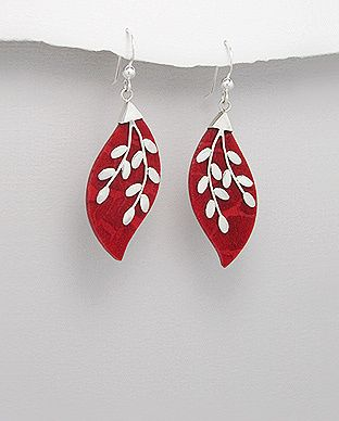 silver vogue - Mesmerizing coral earrings, $22.00 (http://www.silvervogue.com.au/mesmerizing-coral-earrings/)