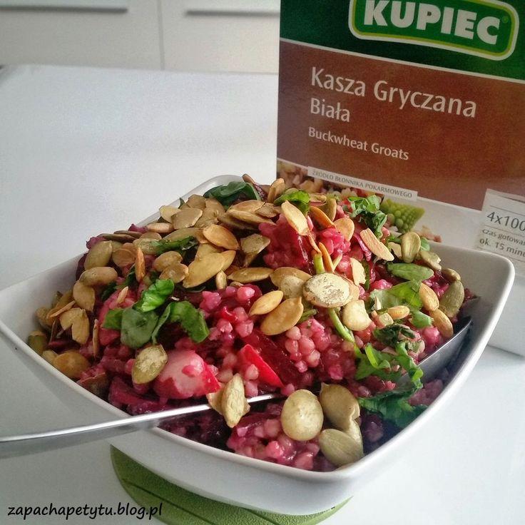 Buckwheat beetroot salad #buckwheat #beetroot #salad #zapachapetytu