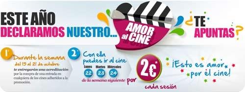 Fiesta del Cine 2012 en los Cines de Santiago de Compostela
