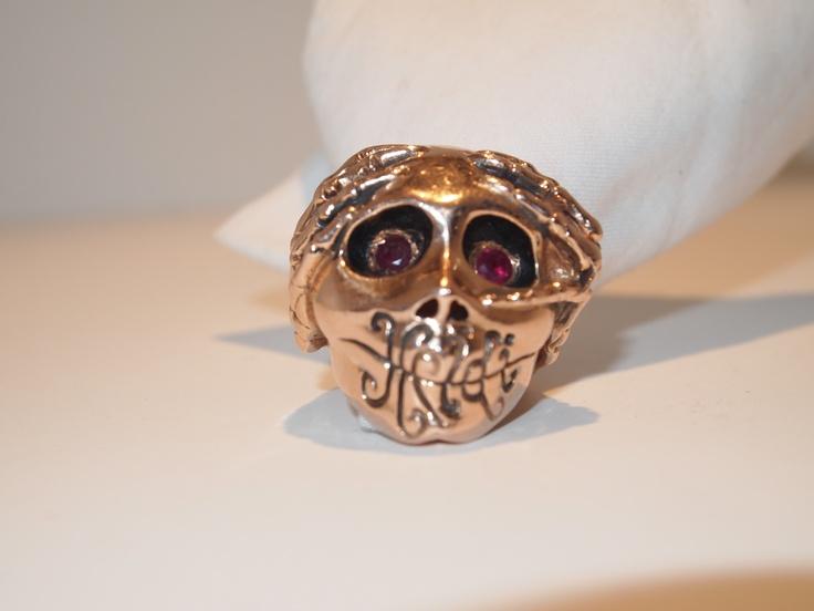 My Logo Ring in Rose Gold