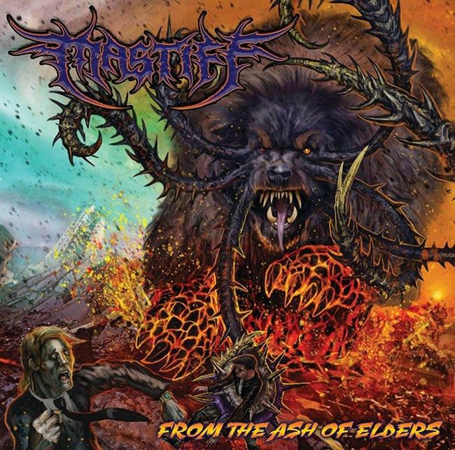 """[CRÍTICAS] MASTIFF (USA) """"From the ash of elders"""" CD 2016 (Zero Budget productions)"""