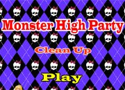 Monster High Party Clean Up | Juegos Monster High - jugar online