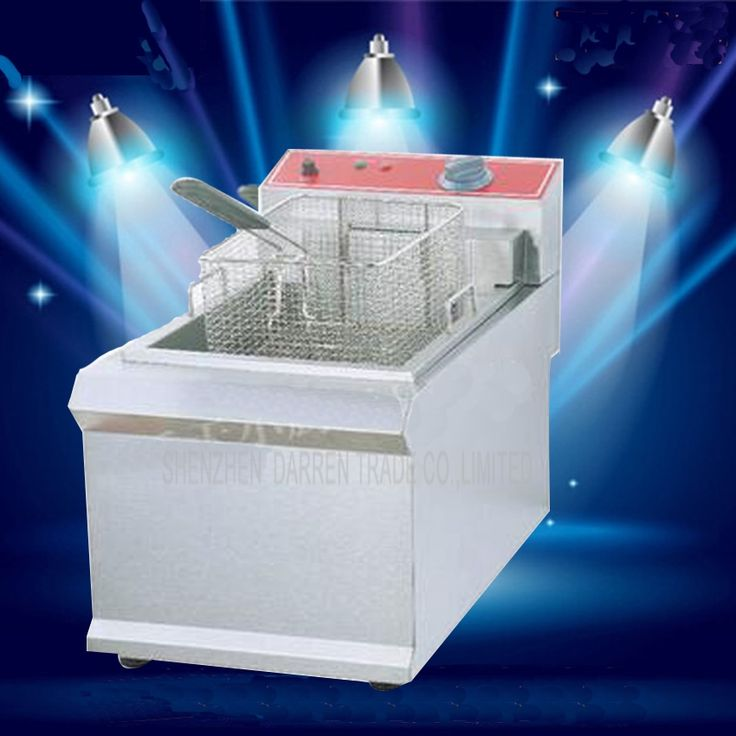 155.42$  Watch now - http://alihti.worldwells.pw/go.php?t=32693421470 - 1PC  FY-903  Commercial  Single cylinder Open Fryer Chicken Frying Equipment Commercial Deep Fryer