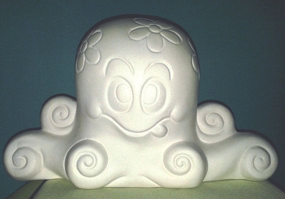 Ollie the Octopus with an Attitude   Paint Your Own Ceramics by MagicalMud, $5.00