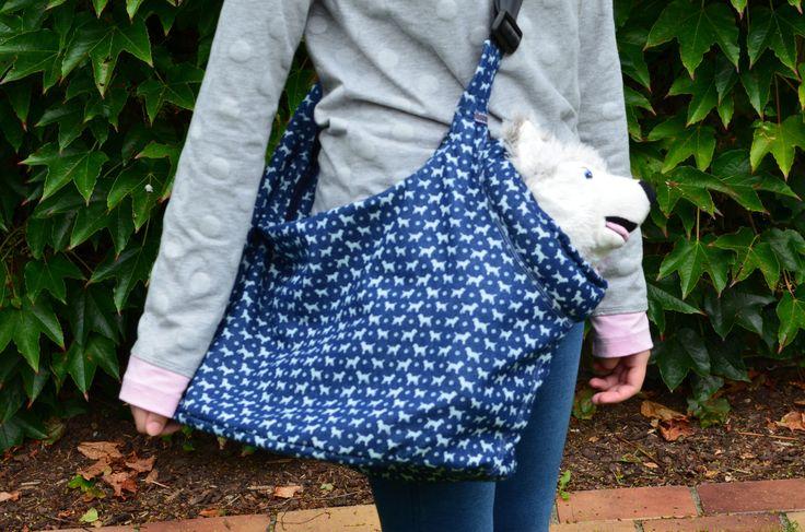 Die besondere Beuteltasche als Hundetragetasche bei uns bestellbar! - leolienchen-design