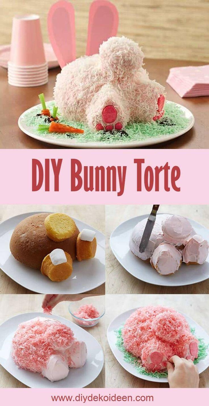 Bake Easter Bunny Cake – tolle Rezeptideen für Ostern   – Rezepte