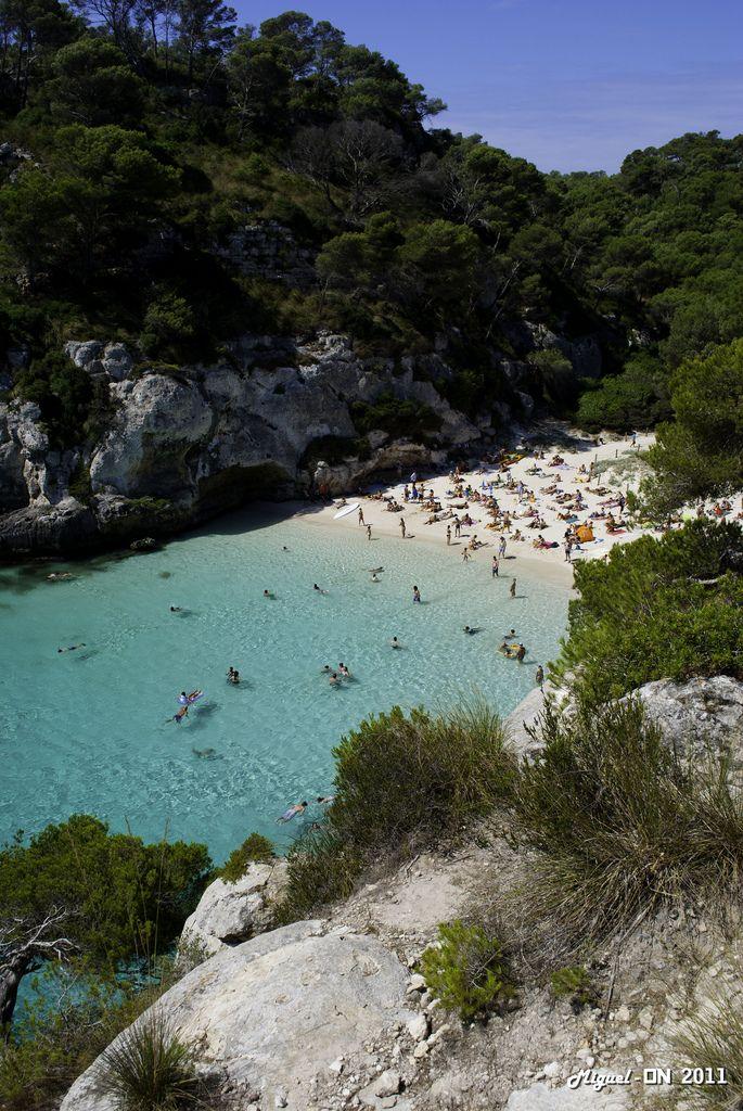 Cala Macarelleta - Menorca, Balearic islands, Spain