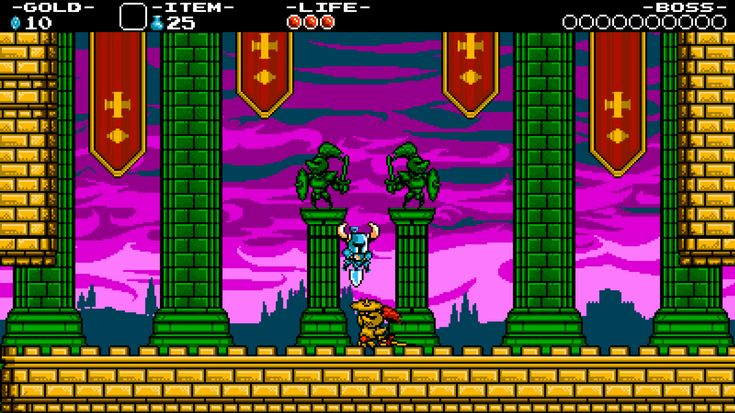Shovel Knight (Vita) • ⭐️⭐️⭐️⭐⭐️️ • A tricky platformer with a lot of enjoyable boss fights. The ending is also very cute.