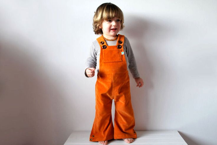 Dungarees kids flared orange cordoruy overalls warm toddlers cute hippie clothing clementine fruit sunshine rainbow spring summer clothes by OliveAndVince on Etsy https://www.etsy.com/listing/207373322/dungarees-kids-flared-orange-cordoruy