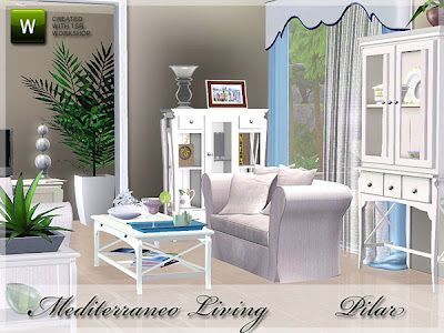New Delivery Of Mediterranean Theme Found In TSR Category U0027Sims 3 Living  Room Setsu0027 Part 34