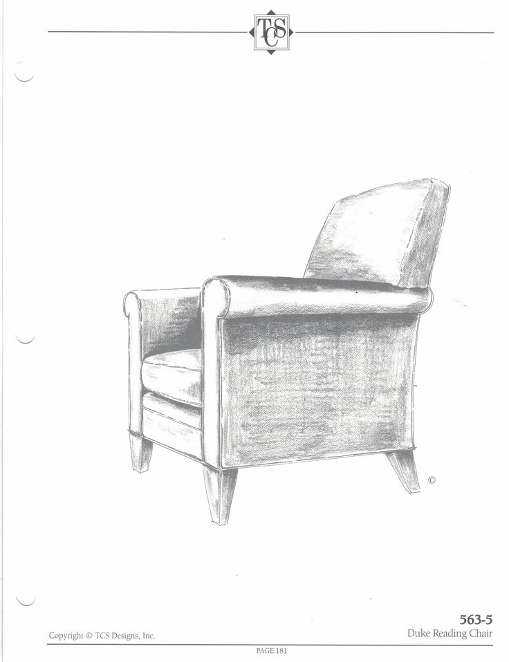 *Could Be A Good Chair To Coordinate With The TCS Tuxedo Park Sofa* TCS    Duke Reading Chair. X X Standard With TCS Premium Spring Down Seating.
