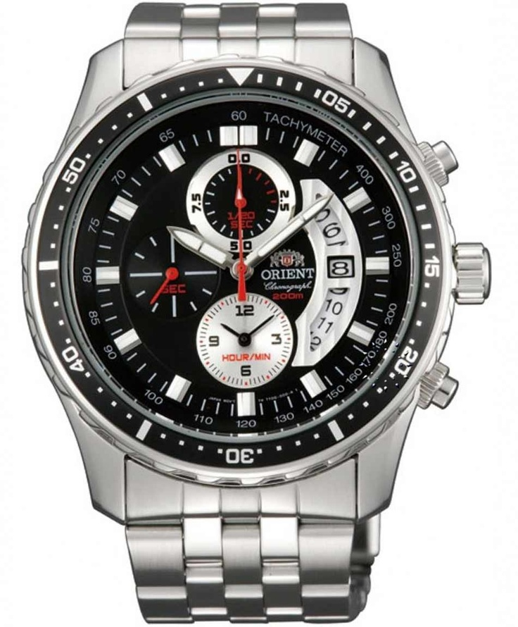 ORIENT Chronograph Stainless Steel Bracelet  Τιμή: 273€  http://www.oroloi.gr/product_info.php?products_id=31122