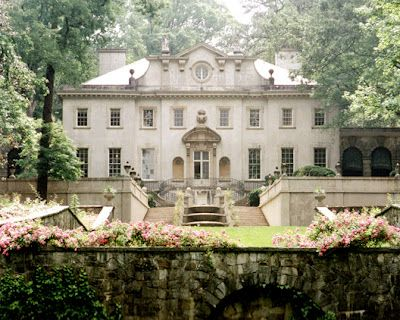 Atlanta, the 1920s Swan House, designed by architect Philip Trammell Shutze.