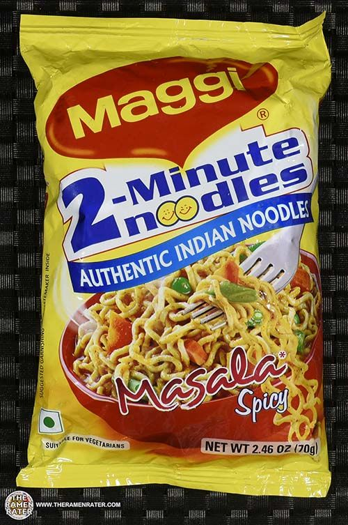 The Ramen Rater reviews a Maggi 2 Minute Noodles instant noodle sent by Marvin R. of Texas - one made in India with a spicy masala flavor by Nestle
