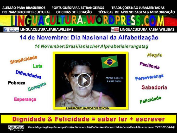 14.12: Dia Nacional da Alfabetização no Brasil