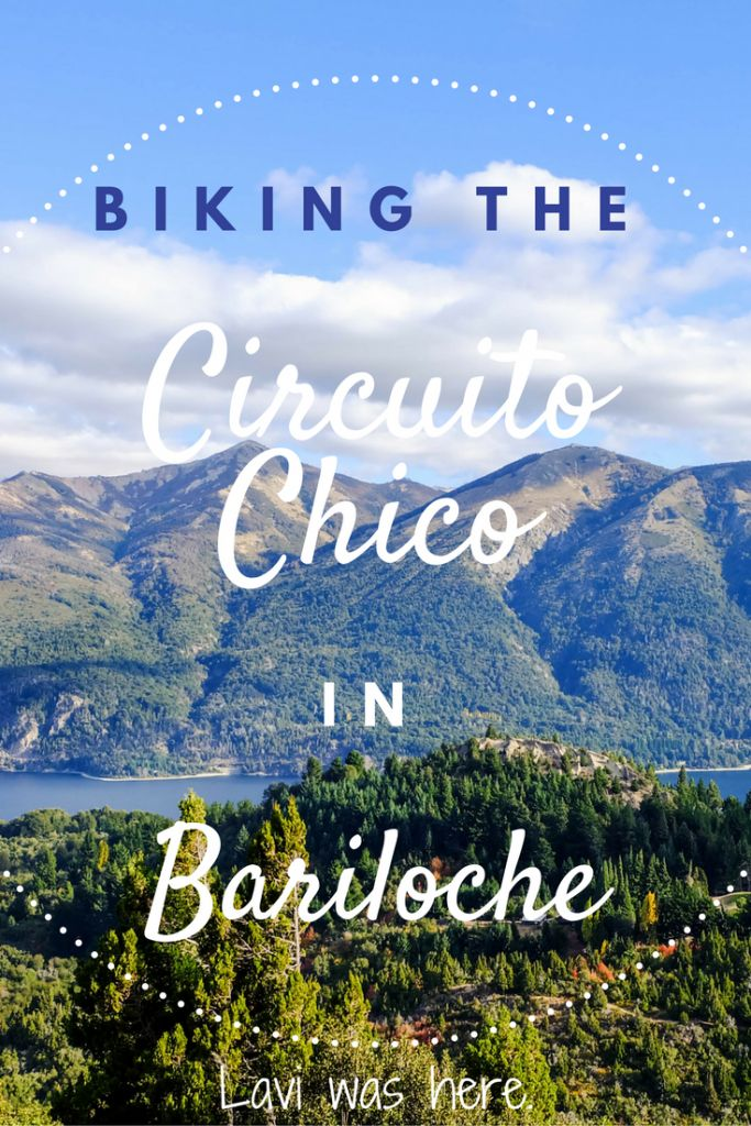 Biking the Circuito Chico in Bariloche | My month-long love affair with Patagonia began in Bariloche. This bike ride is one of the best things to do in Bariloche! | Lavi was here.