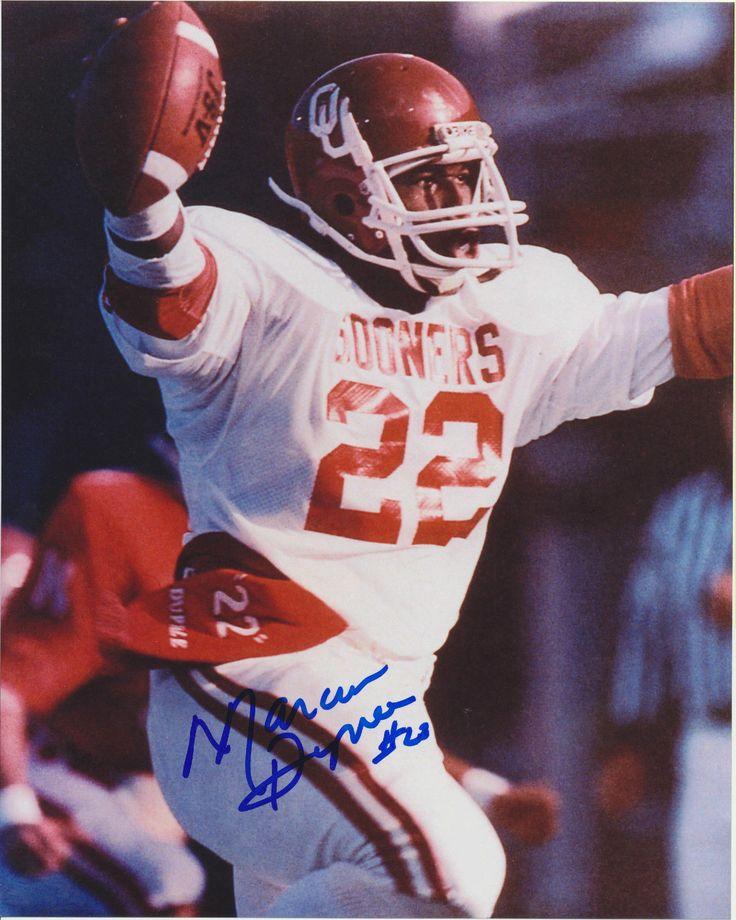 Marcus Dupree Autographed 8x10 Ou Oklahoma Sooners