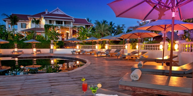 The Luang Say Residence  ( Louangphrabang, Laos )  Even with modern amenities, like the outdoor pool, the hotel feels like a step back in time. #Laos #nusatrip http://www.nusatrip.com/id/hotel/laos/luang_prabang/the_luang_say_residence