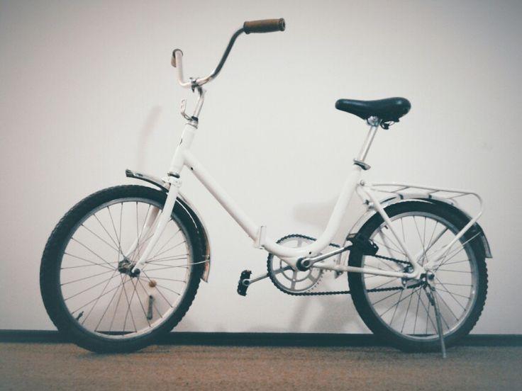 AuroBike #aurorita #white #bike #bicicleta #blanca
