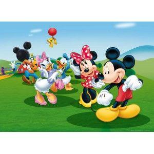 Minnie egér és Mickey egér faltapéta (160 x 115 cm)