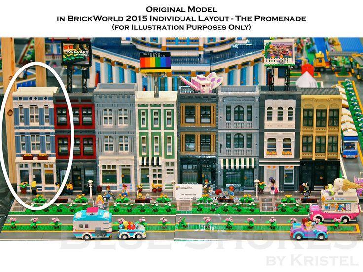 custom lego modular building instructions