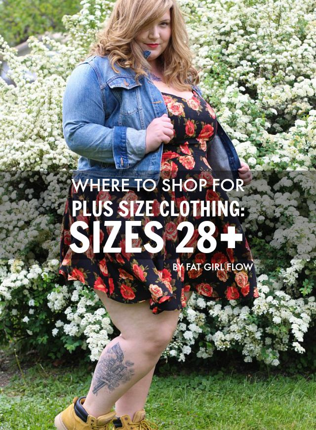 The Militant Baker: WHERE TO SHOP FOR PLUS SIZE CLOTHING: SIZES 28 ...