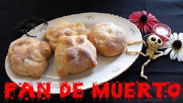 PAN DE MUERTO O MONAS DE PASCUA (ESPECIAL HALLOWEEN)