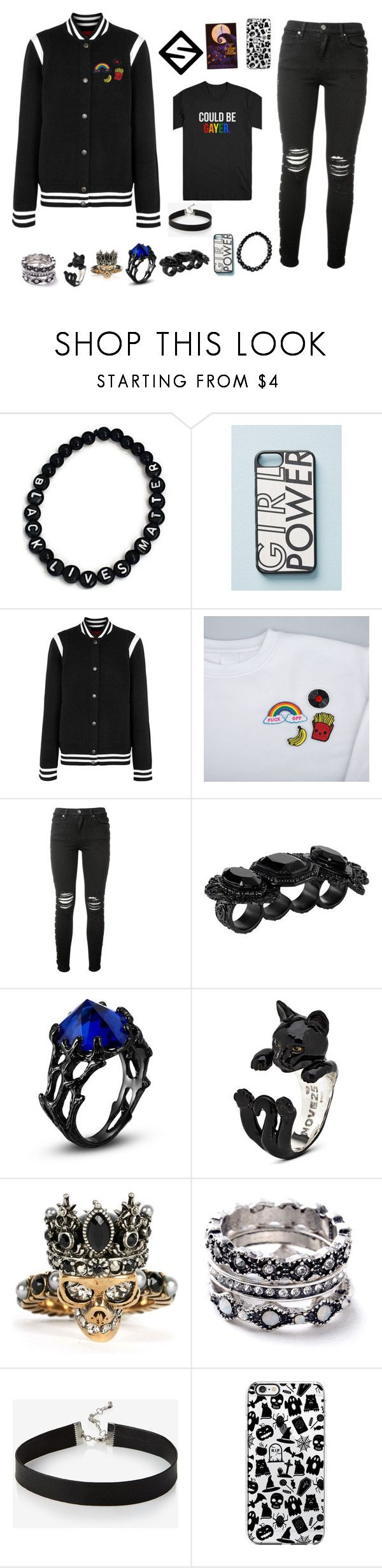 """Nico de Anglo"" by lil-funkio ❤ liked on Polyvore featuring Wood'd, Givenchy, AMIRI, Dsquared2, Alexander McQueen, WithChic, Express, men's fashion and menswear"