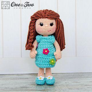 CROCHET - DOLL - Daisy the spring girl amigurumi crochet pattern ♡