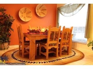 Native American Design Home Decor | Dining Room With Custom Native American  Furniture And Decor