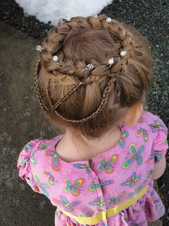 Claires Hair: Hair Crown with Renaissance Braid Accents. Perfect for Easter.