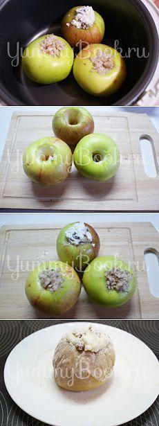 Печеные яблоки в мультиварке - пошаговый рецепт с фото