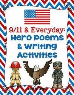 Classroom Freebies: Patriots Day: Hero Poems and Writing Activities