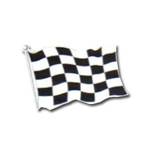 "Checkered Flag Cutout (18"" printed 2 sides)"